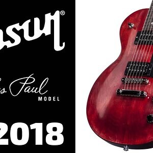 Обзор электрогитары GIBSON LES PAUL FADED 2018