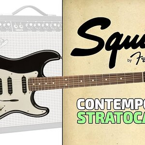 Обзор электрогитары FENDER Squier Contemporary Stratocaster HSS