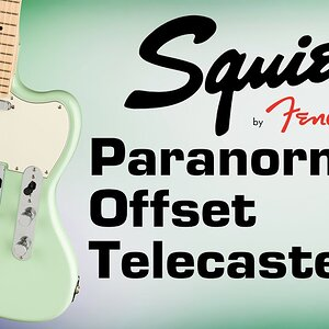 Электрогитара FENDER SQUIER PARANORMAL OFFSET Telecaster